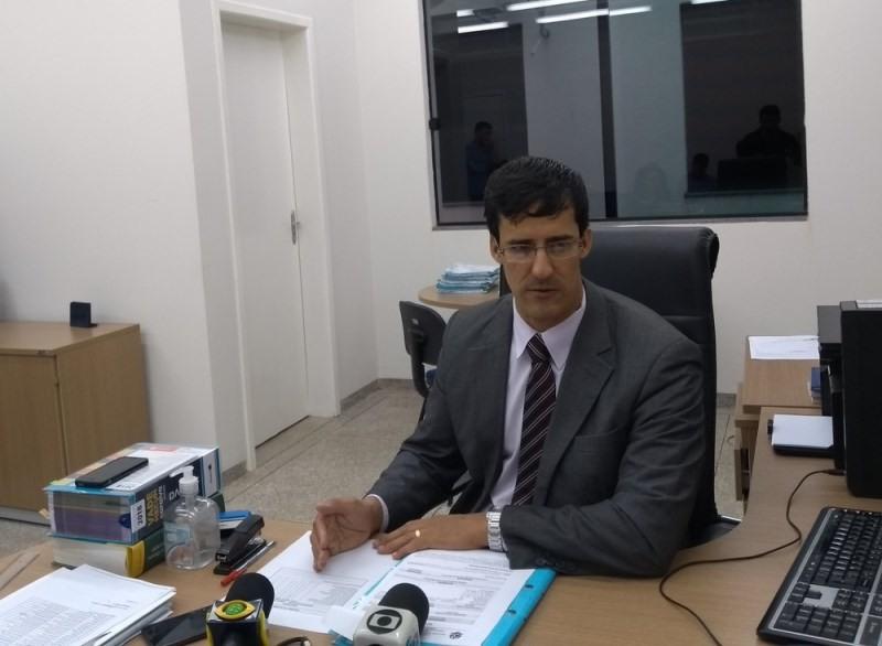 Delegado Núbio falou sobre as investigações do caso (Foto: Eliete Marques/G1)
