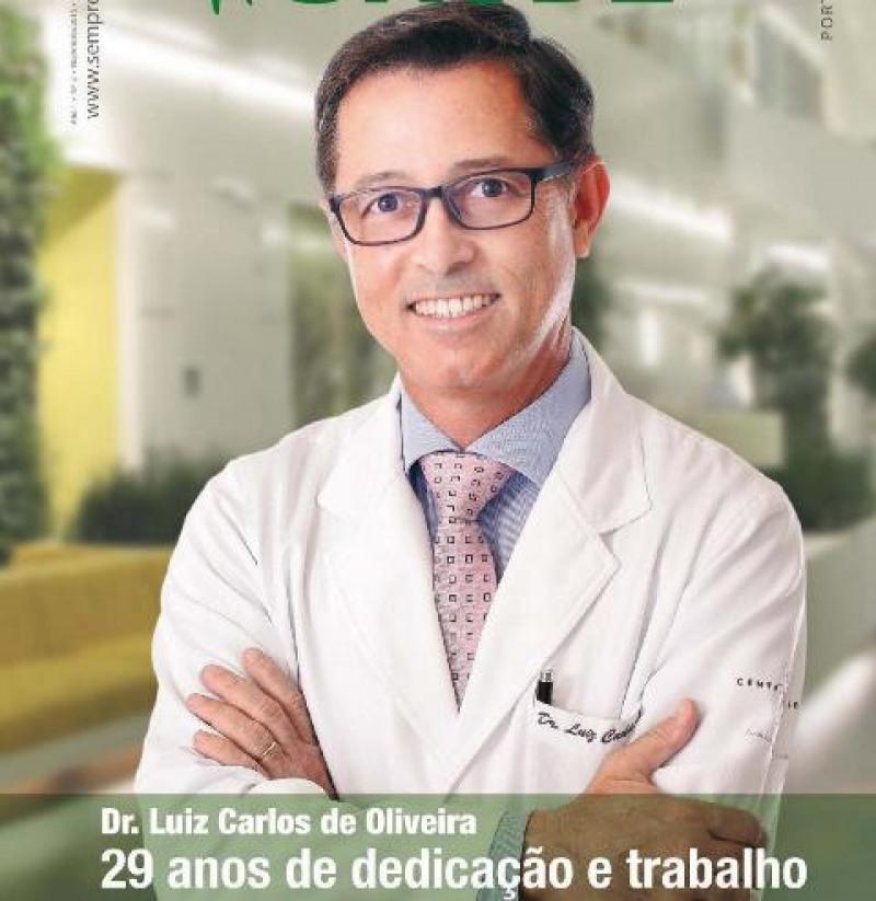 Dr. Luiz Oliveira da Clínica Center Plástica (Foto: Reprodução)