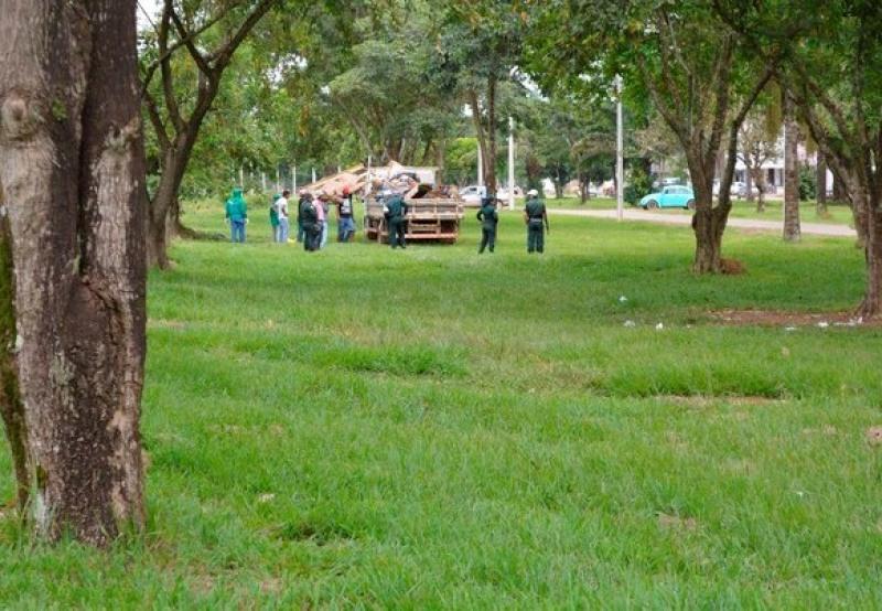 Moradores de rua vão receber auxílio da prefeitura de Ariquemes (Foto: Jeferson Carlos/G1)