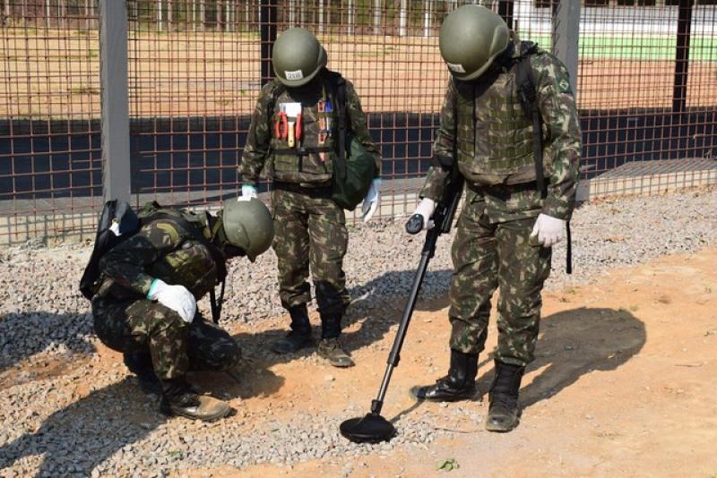 Operação realizada nos presídios de Ariquemes foi coordenada pelo Exército ( (Foto: Reprodução)