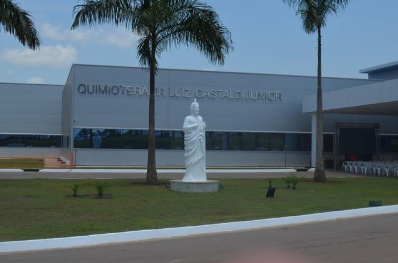 Hospital de Câncer da Amaz�\�nia em Porto Velho (Foto: Jonatas Boni/G1)