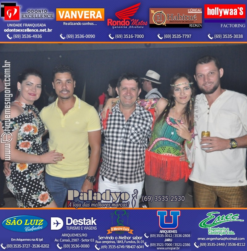 "2º BAILE RETRÔ ""A Festa do Flash Back"" em Ariquemes"