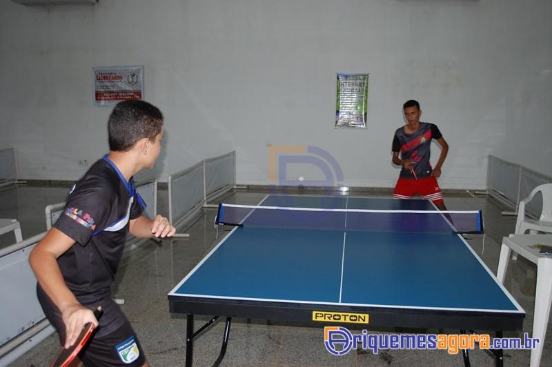 Alto nível dos atletas do tênis de mesa de Ariquemes (Foto: ariquemesagora.com.br)