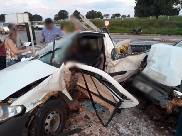 Colisão aconteceu na noite desta quinta-feira (6) e deixou uma pessoa morta (Foto: Divulgação/Arquivo pessoal)