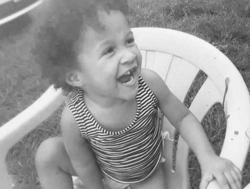 Lauanny Hester Rodrigues, de 2 anos, foi espancada até a morte em Ariquemes (Foto: Rede Social)