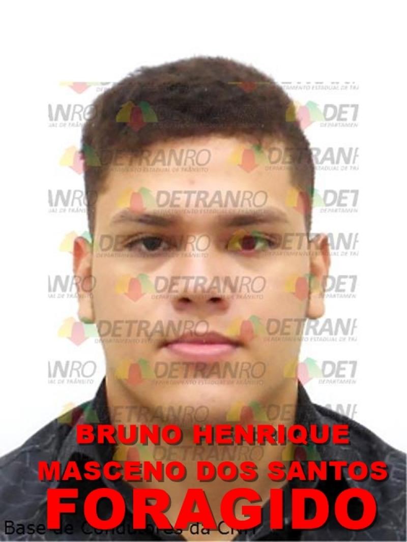 Suspeito Foragido (Foto: Divulgação)