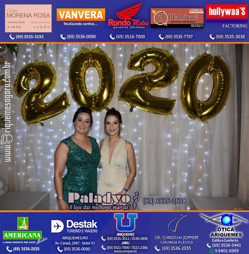 REVIRADA 2020 no Maximus Eventos Ariquemes